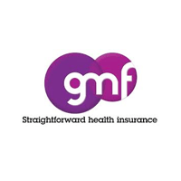 King Street Dental Practice Accepted Health Plans - GMF Straightforward Health Insurance Logo